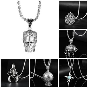 Hip Hop Necklace For Men Luxury Jewelry Long Chain Exquisite Necklaces Unisex Female Gifts Mens Necklaces Hip Hop Jewelry