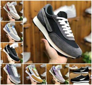 2020 Daybreak SP Qs Hommes Chaussures de course Designs Daybreak x chaussures LVD Waffle Racer Femmes Sneakers Triple blanc noir Zapatillaes être vrai