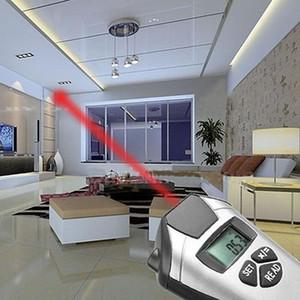 الشريط الالكتروني قياس المسافة بالموجات فوق الصوتية متر قياس مؤشر ليزر