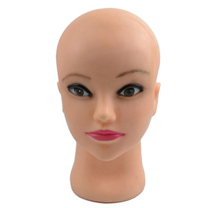 Barber pratique perruque faire de la formation coiffure Hair Extension Doll Head Manikin Mannequin