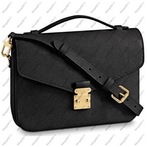 Borse da donna Borse Borse Embossing Processo Fiore Signore Casual Tote Babgs PU Leather Zipper Pocket Borse a tracolla femminile