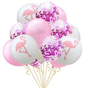 유니콘 플라밍고 풍선 파티 용품 라텍스 풍선 키즈 만화 동물 말 플로트 글로브 생일 파티 장식