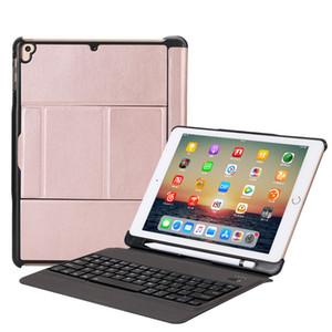 2018 caso ultra sottile rimovibile USB staccabile abs tastiera wireless bluetooth pelle portafoglio per iPad pro 9,7 aria 2 con supporto della matita