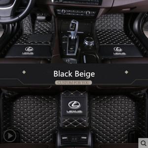 Lexus CT ES GS GX IS LS LX NX RC RX UX Tüm Lexus modelleri için uygundur 2004-2019 araba çevre dostu tatsız toksik olmayan paspaslar