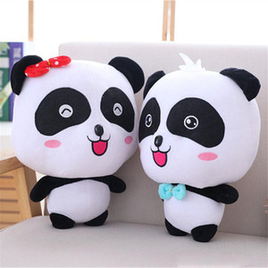 الباندا أفخم لعب الدمى خبأ الشكل لينة حيوانات محشوة كارتون عمل أرقام اللعب لعب اطفال هدايا عيد الميلاد
