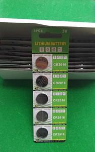 500 بطاقات لكل لوط cr2016 3 فولت خلية زر البطارية عملة البطارية cr 2016 بطارية ليثيوم للساعات الساعات