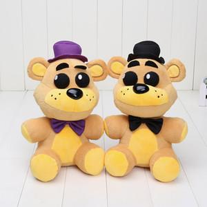 Em stock 25cm FNAF Cinco Noites No Freddy plush toys Nightmare Fredbear Golden Freddy Fazbear boneco de peluche