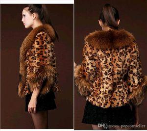Moda feminina Desigenr Faux Fur Coat Engrossado Quente Das Senhoras Guaxinim Faux Fur Outwear Casual Manga Comprida Roupas Femininas