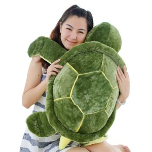 1pc 35cm Plüsch-Schildkröte Spielzeug Nette Schildkröte Plüsch Kissen Staffed Kissen für Mädchen vanlentine Tags-Geschenk