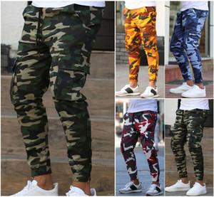 Pantalones Pantalones tácticos En Pantalones masculinos ocasional más algodón del tamaño del estilo militar holgado bolsillo del camuflaje del ejército de los hombres de