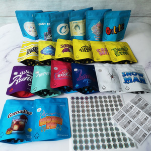 3, 5 g Mylar Bags 20 tipos COOKIES Califórnia SF White Runtz GEORGIA PIE MINNTZ Cake Mix Touch Skin Lemon nade jpackage packing