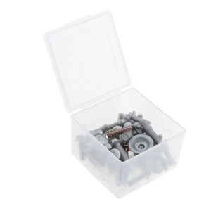 50 Stück. Motorrad-Körper Schrauben Kit, Sitzschrauben Blechschrauben Verkleidung Schrauben, Geeignet für Beta Husqvarna SX65 SX85