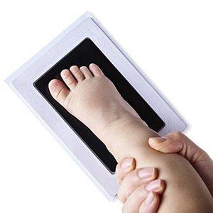 Newborn Baby Handprint Footprint Pad Safe Easy To Clean Non-Toxic Ink Newborn Photo Hand Foot Print Pad Keepsake