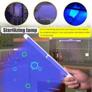 Lumières stérilisation UV portable Cabinet USB rechargeable UVC tactile pour allume armoire à chaussures de cuisine Clothespress masque Désinfecter