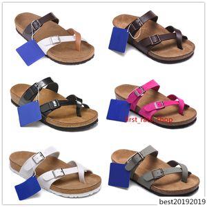 Hot Sale Mayari Arizona Gizeh summer Men Women sandals Cork slippers unisex casual shoes print mixed colors Fashion flats 34-46
