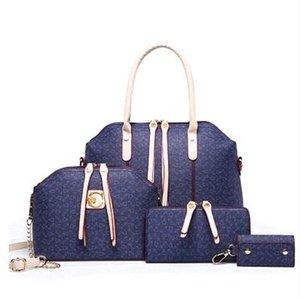 Tasarımcı-Tasarımcı çanta 4PCS Deri Kompozit Bags Bayanlar Sıcak Satış Omuz Çantaları Açık Alışveriş Çapraz Vücut Çanta ayarlar