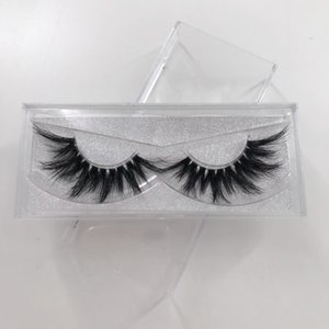 Clear band lashes popular 3D mink lash 22mm length lashes 100% mink fur eyelashes natural good quality eye lashes
