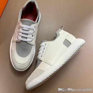 New Men Vitesse sneaker Luxury designer shoes Sneaker in calfskin H192503ZH95430 Men's sneakers Top quality Size 39-45 with box