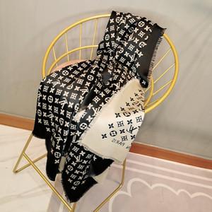 2019 Top sciarpa BRNAD qualità sciarpa di cachemire mescolato alla moda e di lusso uomini e donne sciarpa calda di alta qualità Autunno ed Winterl