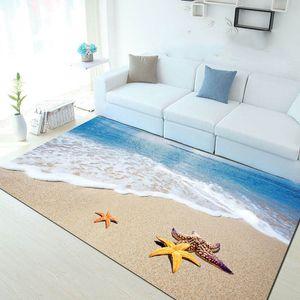 Multicolour 6 milímetros tapete 3D ultra-fina Mediterraneanstyle Mat sala de estar mesa de café Sofá quarto Rug Personalizar