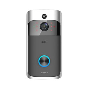 2020 NEW HD 720P WiFi Video Doorbell Camera IR Night Vision Two-Way Audio Battery Operation Door Phone Intercom