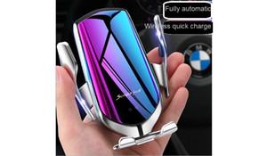 새로운 R2 전문 자동차 무선 충전기 무선 C 위치 새로운 적외선 센서 자동 차 무선 마법 충전기 R2 휴대폰