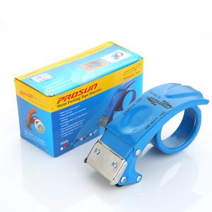 PS8050 Taper Cutter Transparent Adhesive Tape Dispenser School Desktop Blue Washi Tape Holder Packing Dispenser Office Supplies