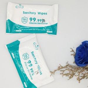75 grau de desinfecção toalhetes com álcool 10 de bombeamento pequenos pacotes limpar mão esterilização esterilização doméstico portátil tissuesSpot