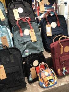 Fjallraven Kanken clásico Paquetes estudiantes mochilas para portátil ordenador portátil a prueba de agua de gran capacidad bolsas de viaje