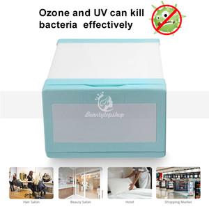 Esterilizador UV Ozono doble desinfección esterilización Mini Ozono Esterilización Gabinete 8L 110V 220V del enchufe del salón del balneario uso en el hogar