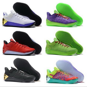 12 A.D EP XII Black Mamba All Black Sconto scarpe da basket formazione Sneakers youfine Grinch avvio Mamba Giorno Aston Martin McFly Grigio Luna