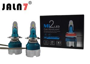 MI2 LED faro H4 H7 H11 H1 HB3 HB4 9012 LED bombillas de faros de coche 6500K Lámpara antiniebla IP67 a prueba de agua