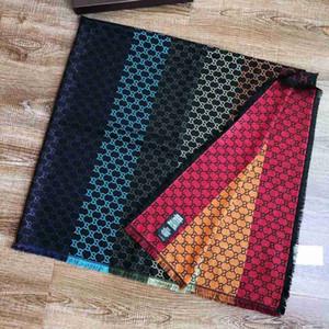 All'ingrosso-sciarpa popolare sezione lungo inverno sciarpa di lana sciarpe marchio Tide uomo e la donna scialle sciarpa 140x140cm alta qualità di modo