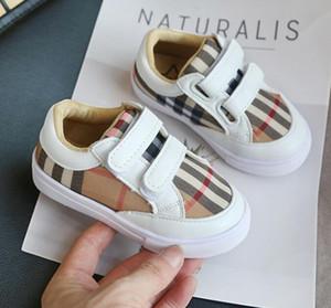 Nuovi bambini ragazzo ragazza bambino Scarpe casual Per bambini Genitore-figlio marrone nero bianco lusso designer di moda scarpe Chaussures Pour Enfant