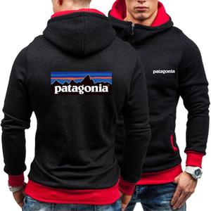 2020 Moda-Camiseta del logotipo de la Patagonia para hombre sudaderas con capucha Diseñador Montaña Manga larga con capucha M-3XL