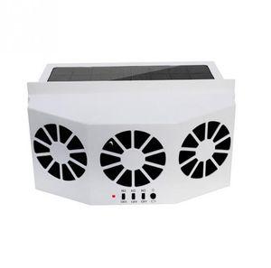Ventilador de Refrigeração de Energia Solar de 3 Ventiladores do Carro do refrigerador