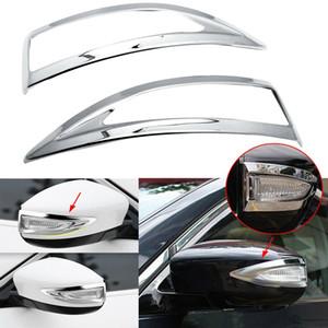 Car Chrome Rearview Mirror Signal Light Trim for Sentra 13-17 Maxima 2020-19