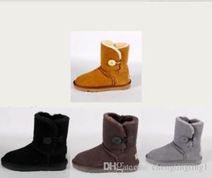 Stopaj Sıcak Kış Yeni Yetişkin Kadın Peluş, Saf Renk Ayakkabı Kadın Bale Ayakkabıları Erkek Ayak Bileği Çizmeler Ile Erkekler Ve Kadınlar Için Para