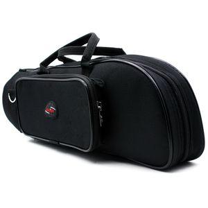 Musical Instrument Trumpet Bag Accompanying Bag Portable Backpack Trumpet Musical Instrument Black Trumpet Nylon Bag US in Stock