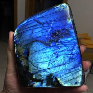아름다운 좋은 색상의 밝은 A를 ++ 판매 미네랄 / 표본을 치유 장석 돌 크리스탈을 연마 천연 장석 돌 좋은