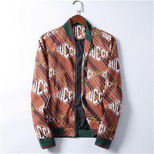 High quality men's designer jacket zipper hoodie jacket fashion men's jacket 20SS men's casual windbreaker winter outdoor street clothing ja