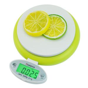 Digital Kitchen 5kg scala / 1g 11lb domestica di precisione LED scale di dieta di alimento postale di cucina Cooking equilibrio di misura del peso Strumento