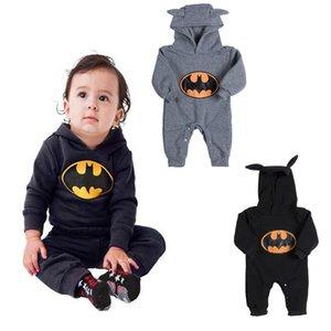 Infantili della ragazza del neonato del pagliaccetto della tuta della tuta di Batman vestiti Outfits