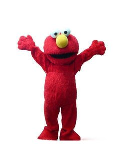 Red Elmo Mascot Costume Halloween Costumes Chirstmas Party Adult Size Fancy Dress