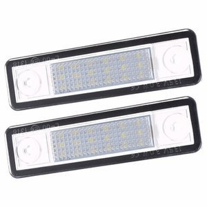 2Pcs Led Number License Plate Light For Vauxhall For Corsa B Astra F G Vectra