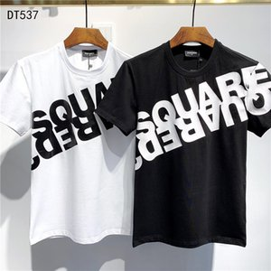DSQUARED2 DSQ2  SS20 New Arrival Top Quality D2 Clothing Men'S T-Shirts Print Street dress Tees Short Sleeve M-3XL DT537