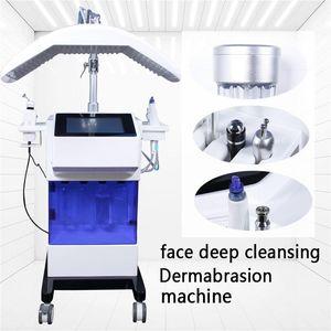 Hydrofacial Dermabrasion Machine Hydra Facial Dermabrasion Diamond Crystal hydro peel water Dermabrasion кислородная био ручка PDT LED