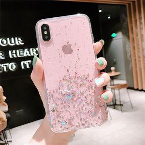 Cas de protection de téléphone Power Power TPU Soft TPU pour iPhone 6 7 8 XS XR 11 12 PRO Max Numéro anti-frappe durable