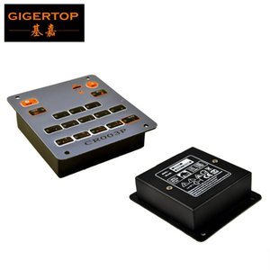 Tiptop 003p Mini Stage Light Controller Box International Universal Dmx Digital Small Indoor Wall Embedded Lighting Controller Tp -D19