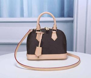 sacos de moda Alma BB bolsas de grife desembolsar mulheres estilo totes moda L teste padrão de flor designer sacos 2 senhoras tamanho bolsa do desenhador de luxo h